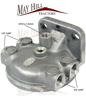 Ford Case International Tractor Fuel Filter Head Housing - #7634 • 12.49£