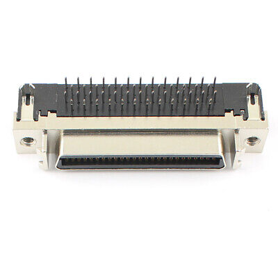$3.99 • Buy 1Pcs SCSI HPCN Slot Type Female 50 Pin Right Angle PCB Connector Adapter