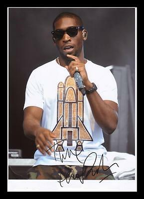Tinie Tempah Autographed Signed & Framed Pp Poster Photo • 15.99£