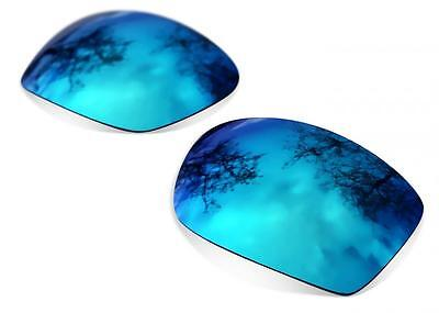 New SURE Polarized Replacement Lenses For Oakley Ten (X) ( Ice Blue ) • 19£
