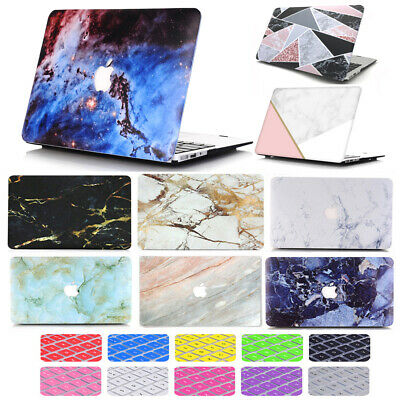 $12.99 • Buy 2in1 Silk Quicksand Marble Matte Hard Case Cover For MacBook Pro Air 11 /13 Inch