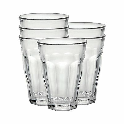 £15.50 • Buy Duralex Picardie Water Glass 50cl 500ml Tumbler, Pack Of 6, TOUGHENED GLASS