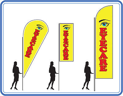 Eye Care Flags , Great For Opticians - Cleaners Flags Banners UK 1 • 89£