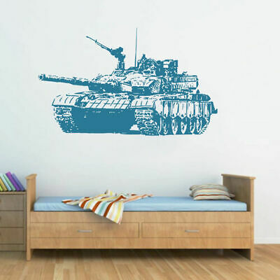 $28.99 • Buy Ik1606 Wall Decal Sticker Tank Military Equipment US Army Children's Bedroom