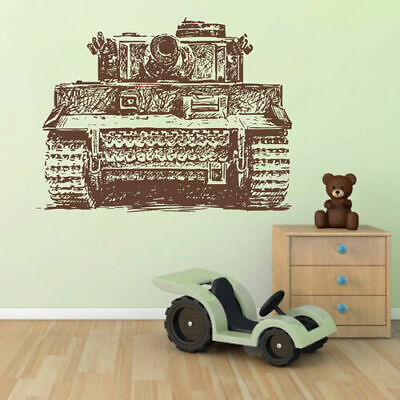 $28.99 • Buy Ik1609 Wall Decal Sticker Tank Military Equipment US Army Children's Bedroom