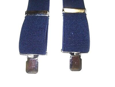 $9.99 • Buy SUSPENDERS MEN 2 INCHES WIDE MADE In USA MANY COLORS