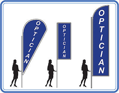 Optician Flags , Great For Shops - Optician Sale Flags Banners UK 1 • 109£