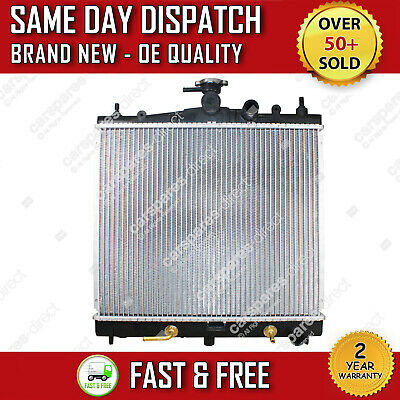 Automatic Radiator Fit For A Nissan Micra / C+c (k12) 1.2 / 1.4 / 1.6 2003>2010 • 47.40£
