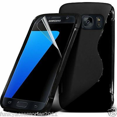 Quality Excellent Slim Sports Wave Gel Shock Protection Phone Case✔Samsung • 2.85£