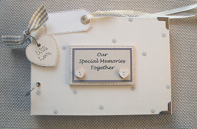Personalised. Our Special Memories..a5 Size. Photo Album/scrapbook/memory Book • 13.10£