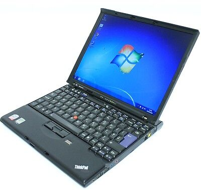 Windows 7 Laptop IBM Lenovo Core 2 Duo 2.0Ghz 2GB 80GB 2.0GB WIFI & Warranty  • 127.04£