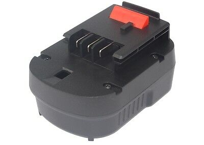 NEW Battery For Black & Decker BD12PSK BDBN1202 BDG1200K A12 Ni-MH UK Stock • 41.36£