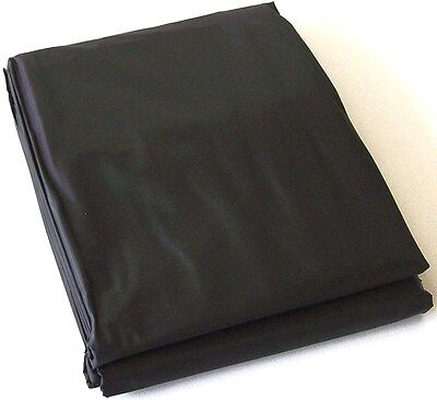 AU29.95 • Buy BLACK PVC Pool Snooker Billiard Table Dust Cover For 7' Ft Foot Pub Size Gift