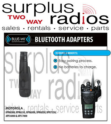 NightHawk Bluetooth Adapter Motorola Police XPR6350 XPR6500 XPR6550 XPR6500 • 109.50$