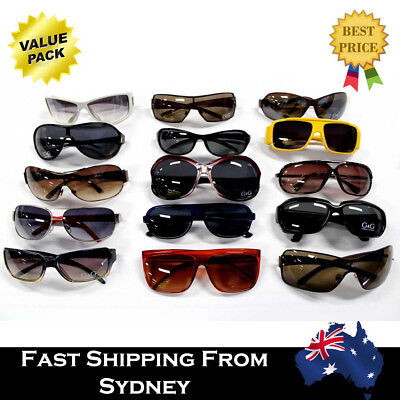 AU19.99 • Buy 10Pairs Mens Womens Fashion Mixed Sunglasses Clearance Wholesale Bulk Lots