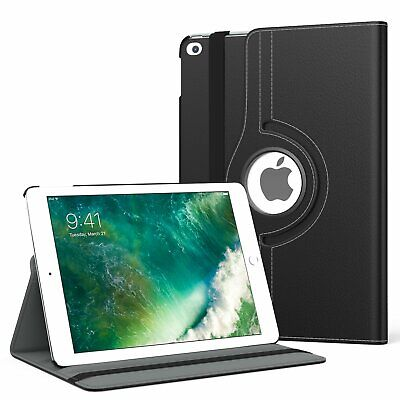 $6.75 • Buy 360 Degree  Rotating Leather  Swivel Stand Case Cover  For Apple IPad 2 / 3 / 4