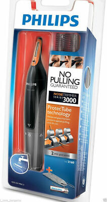 AU27.98 • Buy PHILIPS NT3160 Nose Ear Eyebrow Hair Trimmer Shaver Washable No Pulling No Cut