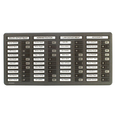 Indesign In/Out Board 40 Names Grey WPIT40I • 87.55£