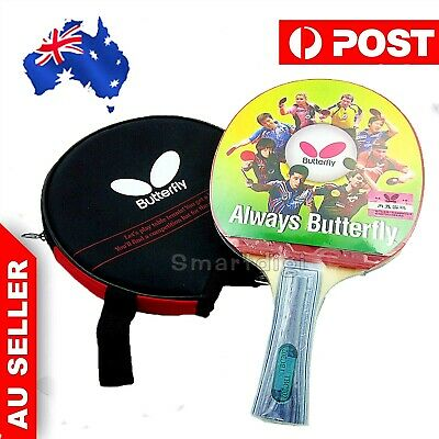 AU34.75 • Buy Butterfly TBC202 Long Table Tennis Racket Ping Pong Paddle Bat Shakehand FL NEW