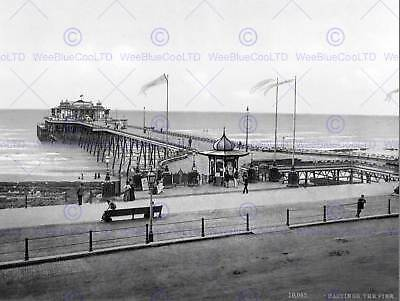 £9 • Buy Hastings The Pier England Vintage History Old Bw Photo Print Poster 906bwb
