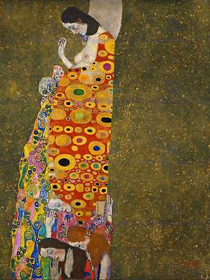 $ CDN15.56 • Buy Cultural Gustav Klimt Hope Abstract Secession Symbolism Poster Art Print Bb653b