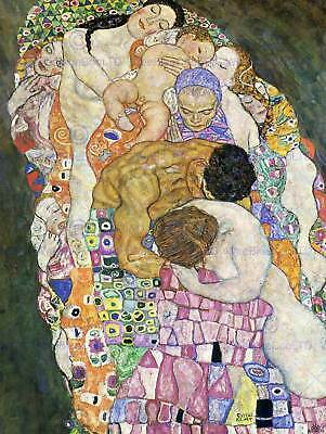 $ CDN15.56 • Buy Gustav Klimt Death Life 1916 Old Master Art Painting Print Poster 1092om