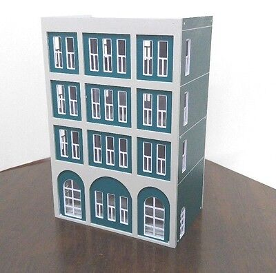 $ CDN29.48 • Buy HO Scale Painted Residential Building 1:100 For HO Gauge Model Train Layout F7
