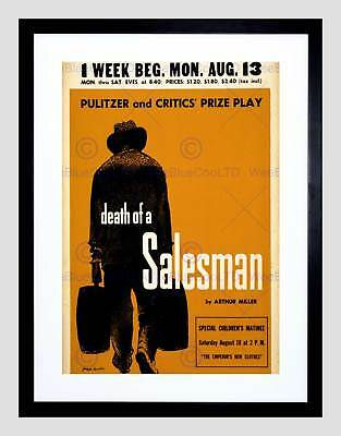 $34.06 • Buy Ad Theatre Stage Play Death Salesman Miller Cape May New York Print B12x3256