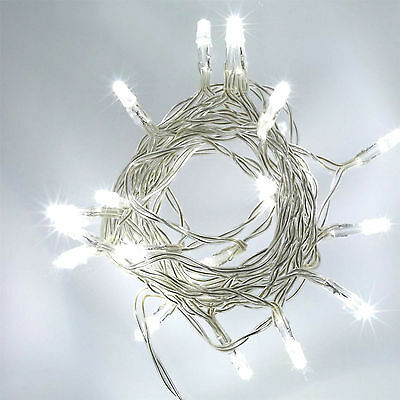 20|40|80 LED Battery Operated Fairy Lights Christmas Wedding Party Decorations • 4.99£
