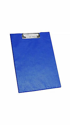 A4 Clipboard Solid Fold- Office Document Holder Filling Clip Board • 5.49£