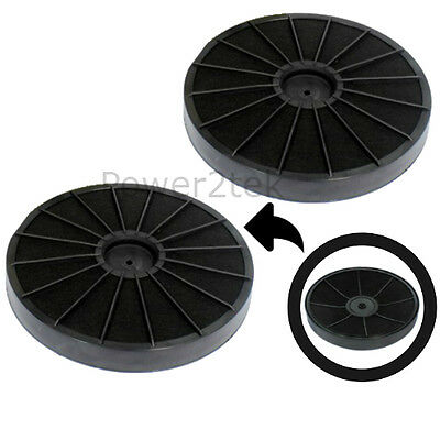 2 X EFF54 Type Carbon Charcoal Filter For Tricity Bendix TBH630WH Cooker Hood • 25.93£