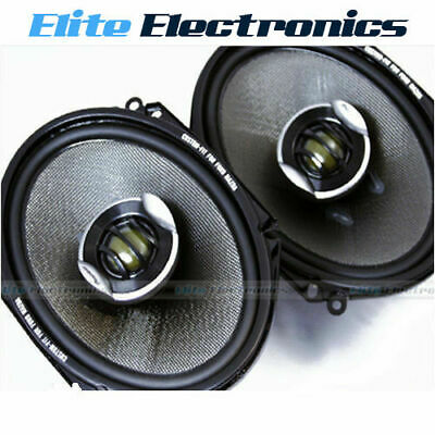 AU164.85 • Buy PIONEER TS-D6802R 6x8  2-WAY D-SERIES 2-WAY 260W MAX CAR AUDIO COAXIAL SPEAKERS