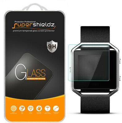 $ CDN8.87 • Buy Supershieldz Tempered Glass Screen Protector Saver Shield For Fitbit Blaze