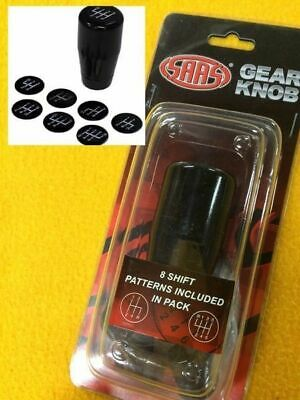 AU36.66 • Buy 4 5 6 Speed Universal Fit Manual Car Gear Shift Lever Knob Black Aluminium SAAS