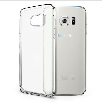 $ CDN5.99 • Buy Samsung Galaxy S7 EDGE Transparent Case Crystal Clear Soft Thin Flexible TPU