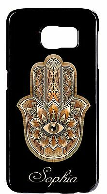 $ CDN21.31 • Buy Hamsa Hamza Henna With Personalized Name Case Samsung Galaxy S6/Edge/Plus Note 8