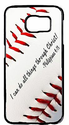 $ CDN19.97 • Buy New Baseball Christian Verse Rubber/Hard Case Samsung Galaxy S6 Edge/Plus+Note 5