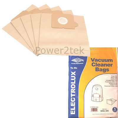 5 X E53 Dust Bags For Electrolux Z4492 Z4493 Z4494 Vacuum Cleaner • 5.51£