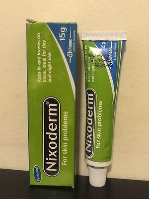 £7.24 • Buy Nixoderm For Skin Problems Eczema, Pimples,Ringworm. 15g Tube USA SELLER