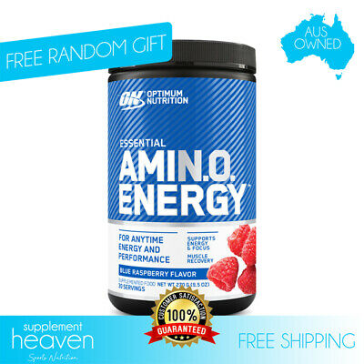 AU34.90 • Buy Optimum Nutrition On Amino Energy 30 Serves Essential Amino Blend BCAA Recovery