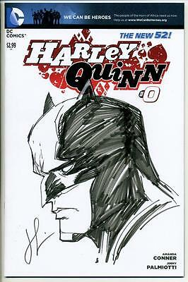 $ CDN181.42 • Buy Harley Quinn #0 Variant Signed & Batman Sketch By Chad Hardin Dc New 52 Sdcc Nm