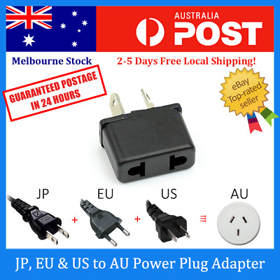 AU5.99 • Buy Europe EU / Japan JP / US To Australia AU AC Power Plug Adapter Travel Converter