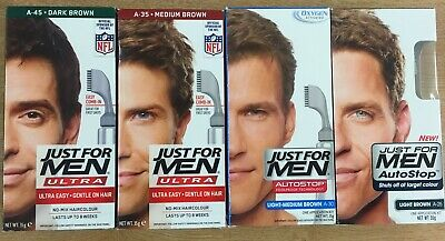 £8.99 • Buy Just For Men Autostop/ultra Hair Colour