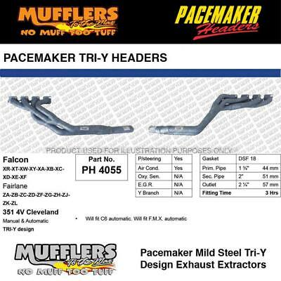 AU876.38 • Buy Pacemaker Headers Suitable For Falcon XR To XF 4V Cleveland 1 3/4 Primary