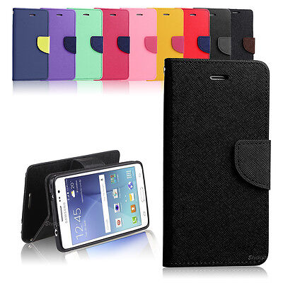 AU12.99 • Buy New Diary Gel TPU Wallet Case Cover For  Samsung Galaxy J3 + Screen Guard