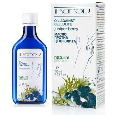 Ikarov Anti-cellulite Oil With Juniper Berry 125ml 100% Pure Natural Product • 6.89£