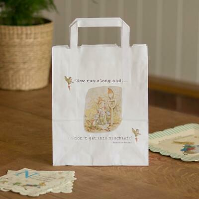£5.95 • Buy Peter Rabbit Paper Bags   Childrens Christening Easter Birthday Party Favour X10