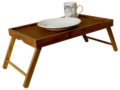 $14.99 • Buy Home Basics NEW Pine Wood Foldable Bed Serving Tray Table Breakfast - BT01124