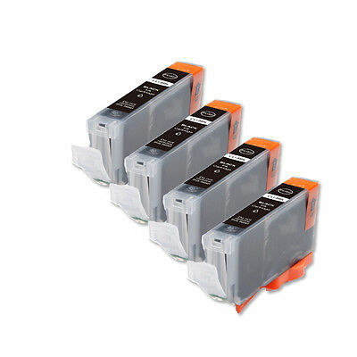 £5.27 • Buy 4P BLACK Quality Ink Cartridge For Canon CLI-8 IP6600D IP6700D MP500 Pro9000