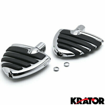 $53.99 • Buy Chrome Wing Foot Pegs Rests For Suzuki M109R All Models 2006-2013 Front